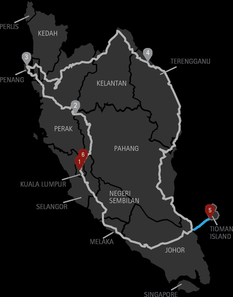 10 Days Tour Malaysia