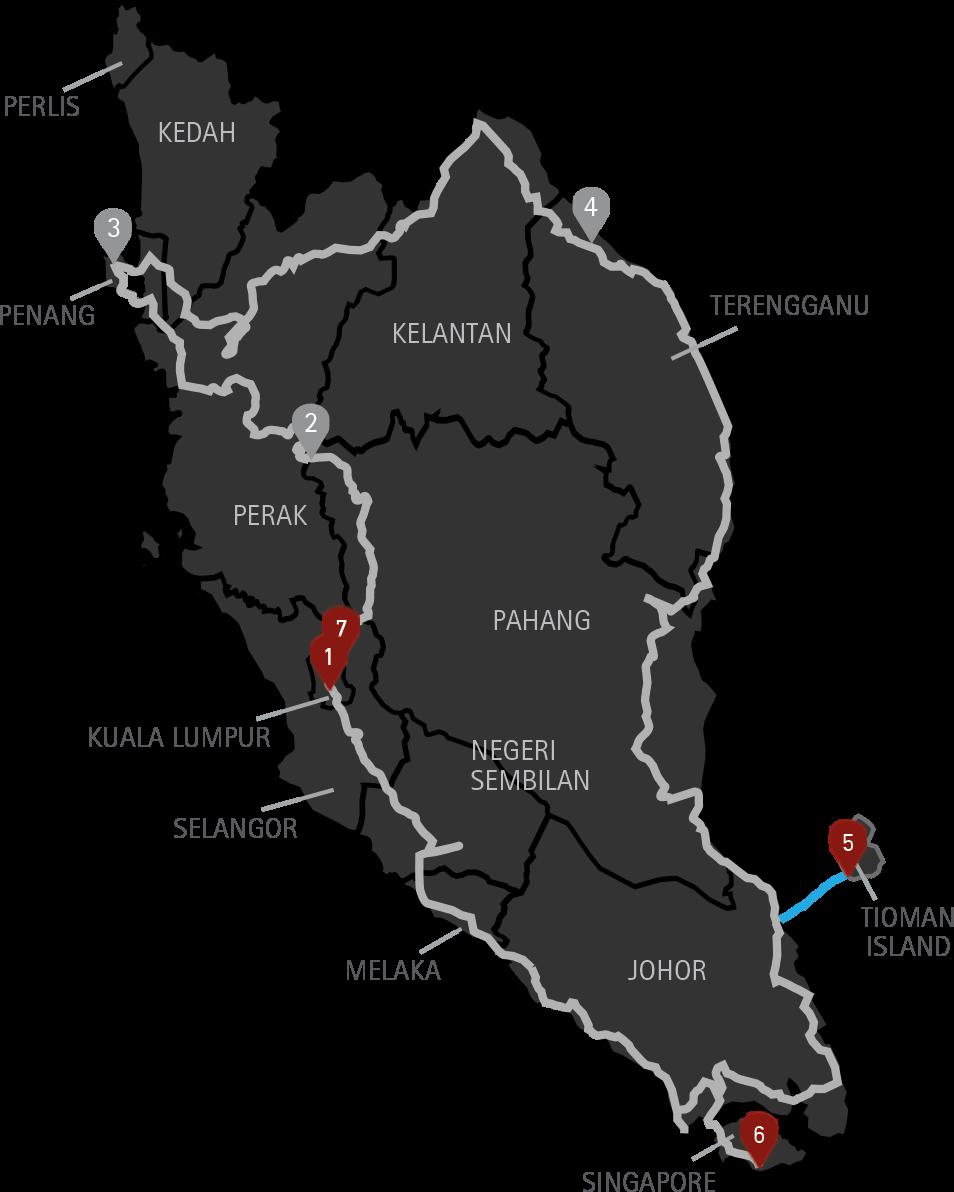 10 Days Tour Malaysia Singapore