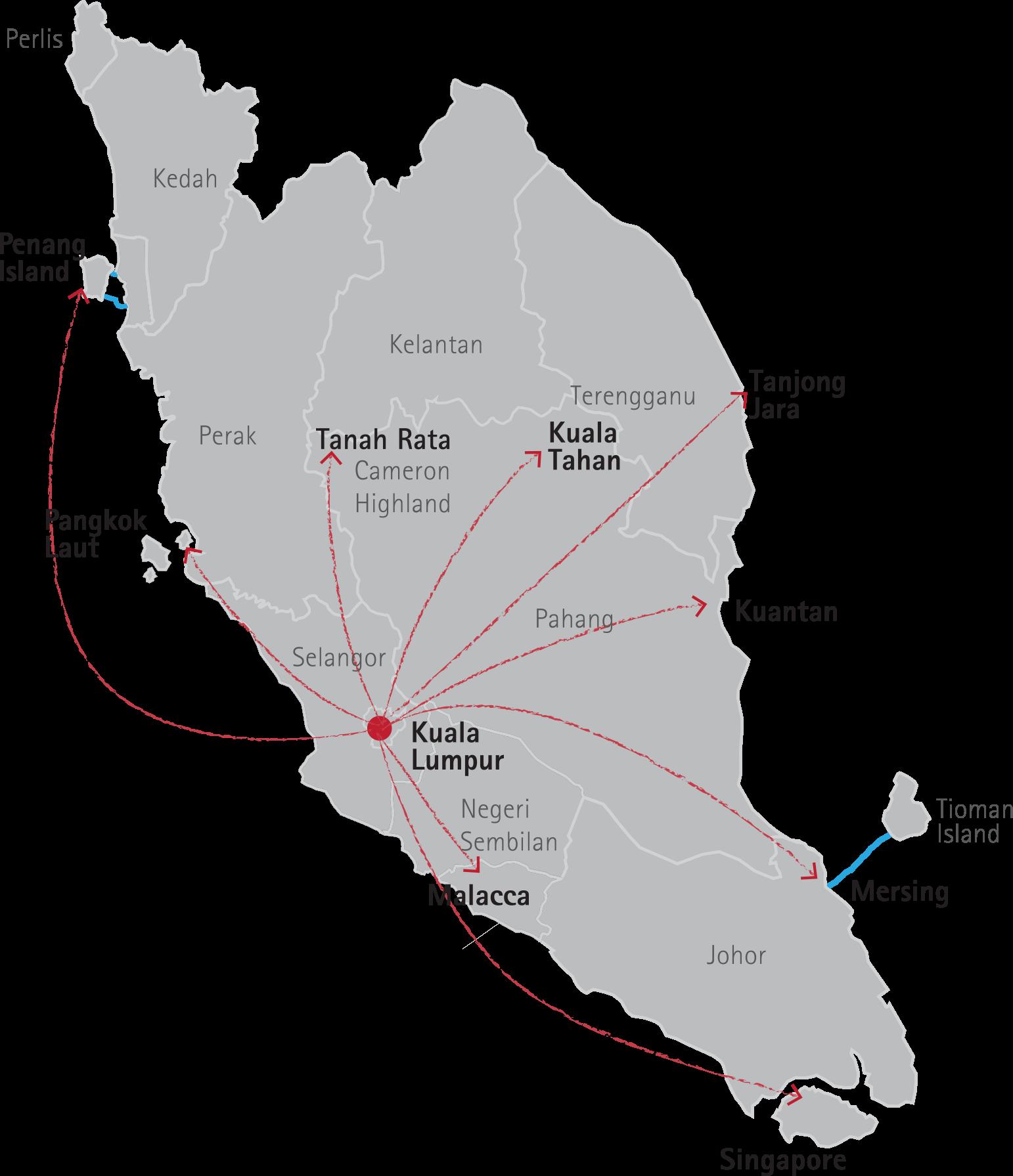 Kuala Lumpur Journey Tour