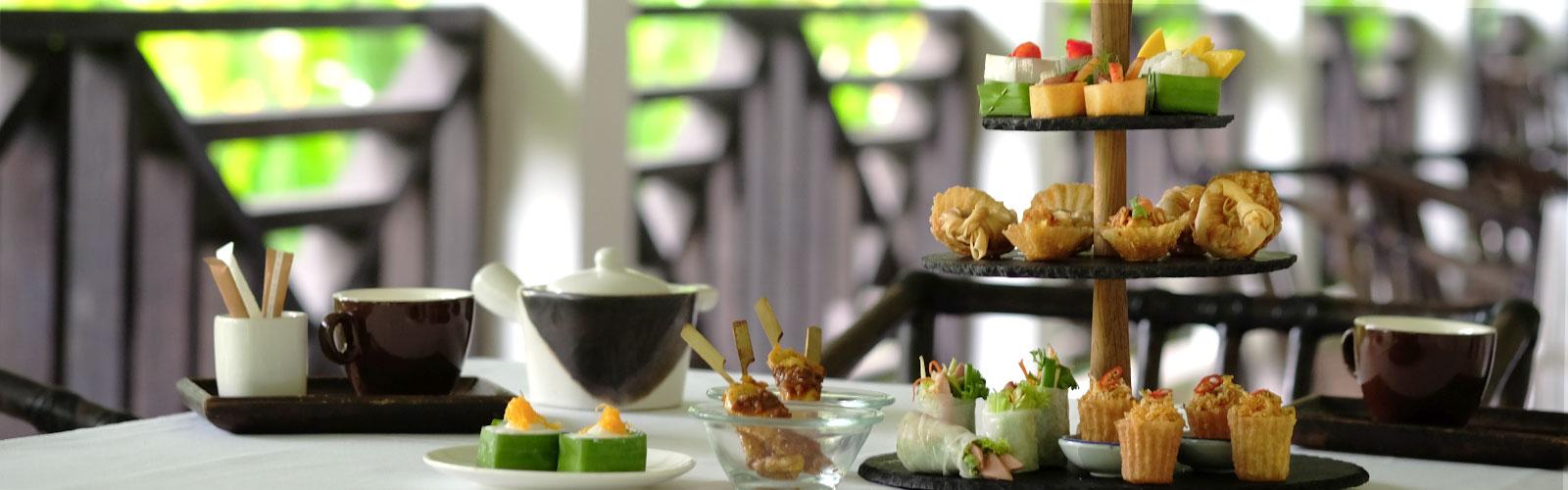 Thai Afternoon Tea at Tamarind Hill