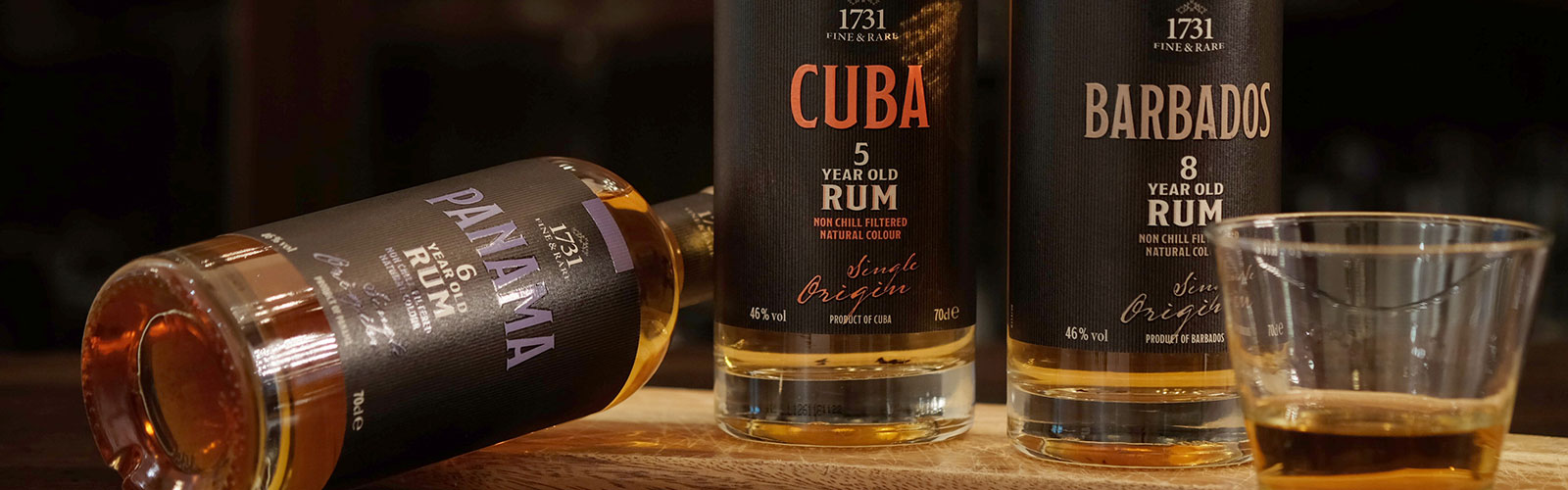 1731 Fine and Rare Rum Collection