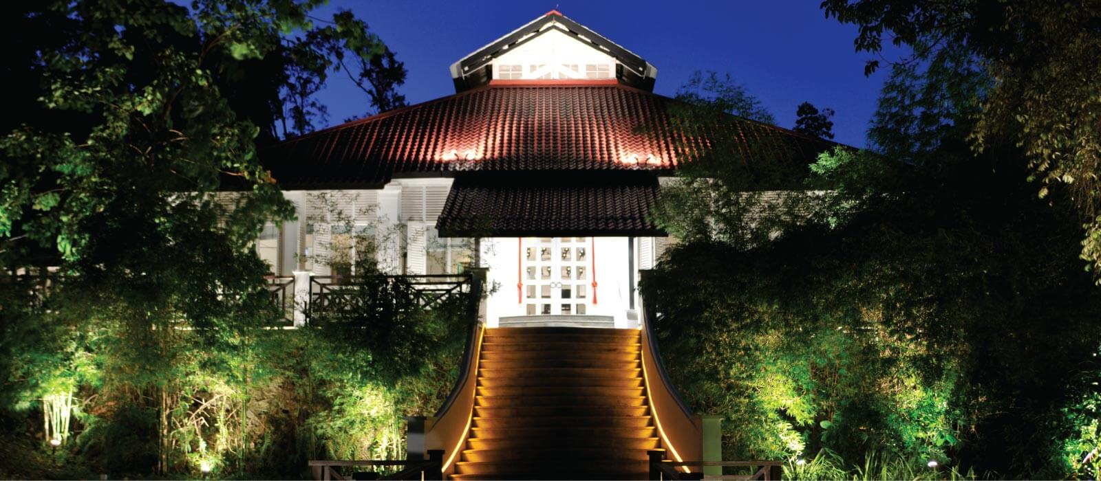Facade | Tamarind Hill | Fine Dining Restaurant Singapore