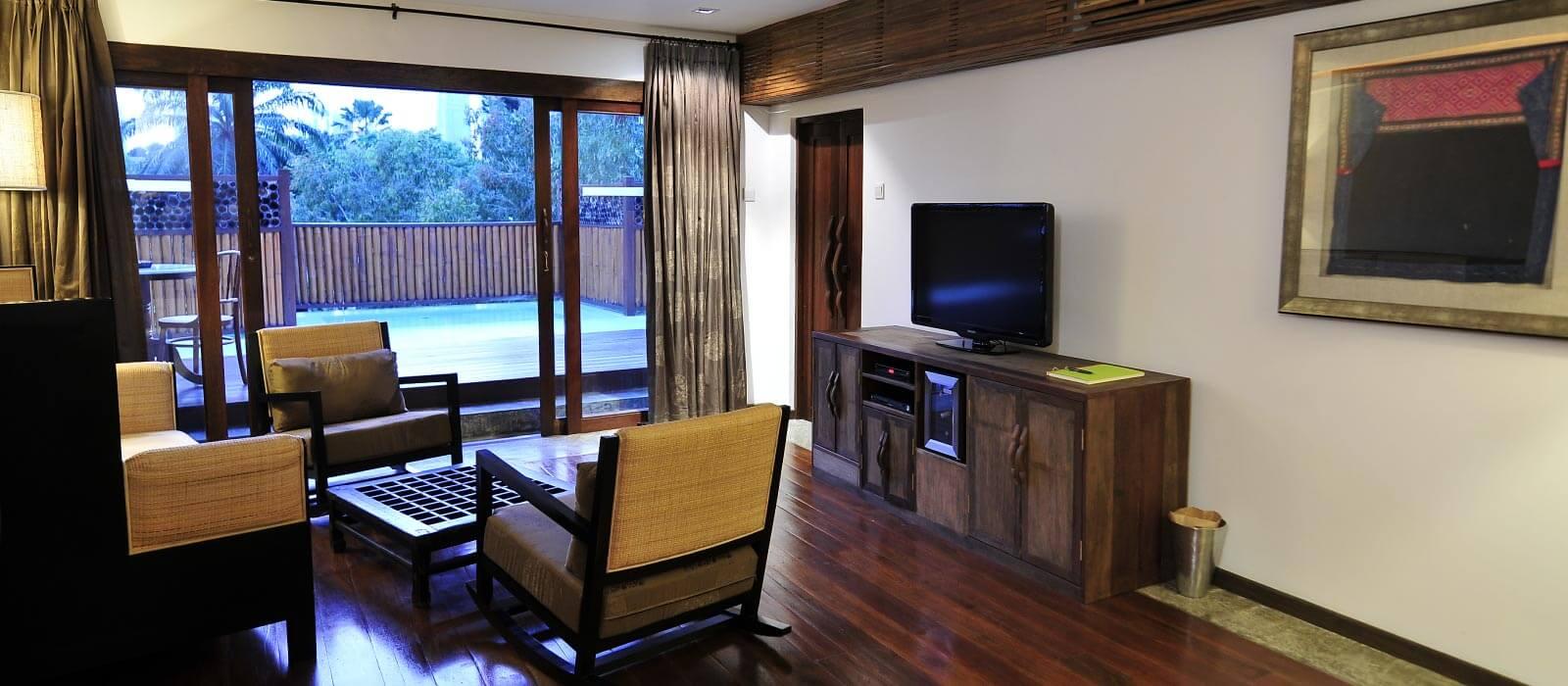 Villa Samadhi Loft Room