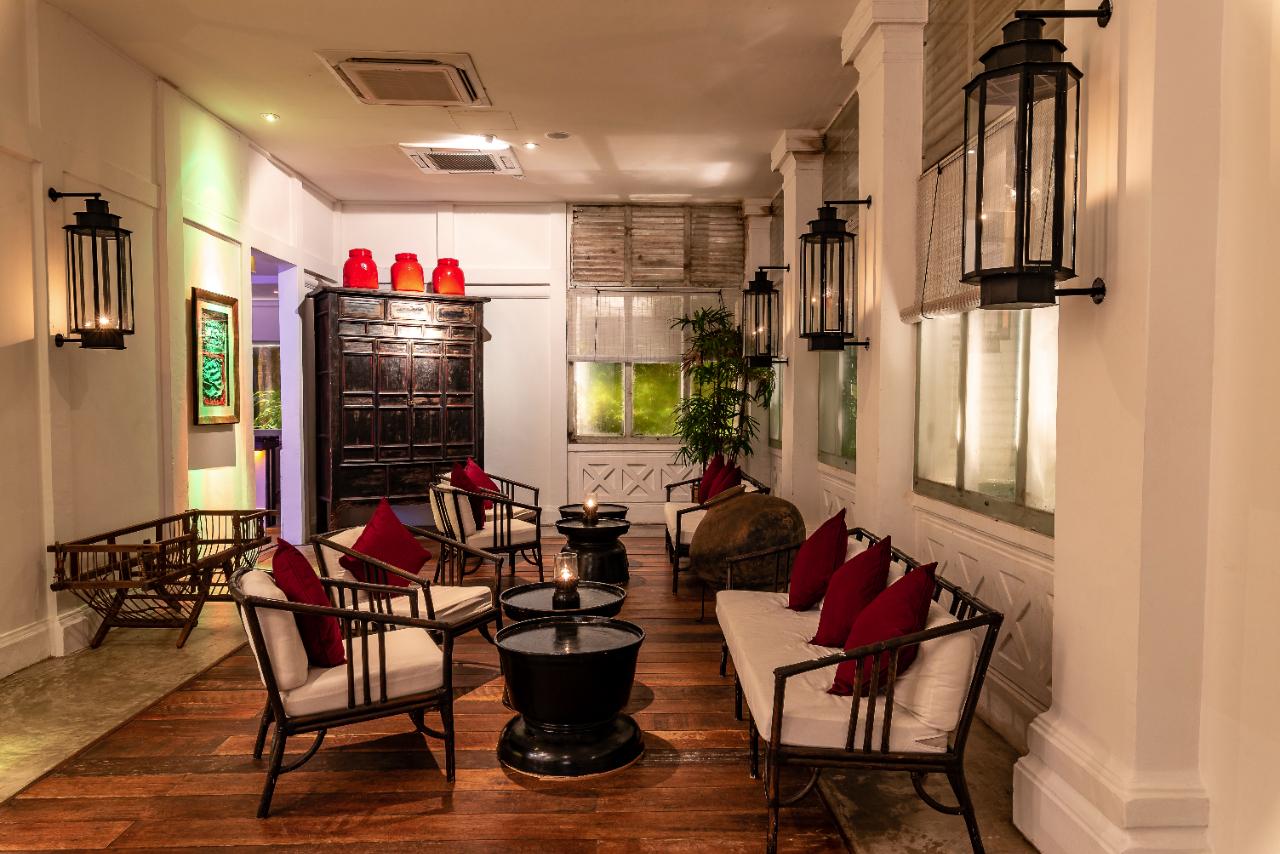 Villa Samadhi Singapore Tamarind Hill Lounge